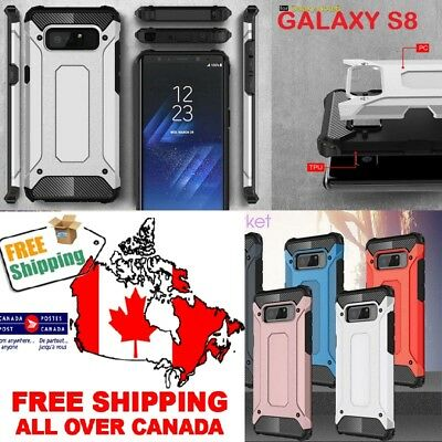 $ CDN5.99 • Buy Armor Rugged Hybrid Shockproof Phone Case Cover Samsung Galaxy S8  CA Ship Free