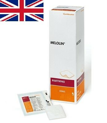 £3.99 • Buy Melolin Sterile Wound Dressing Non-Adhesive First Aid   All Sizes   UK SELLER