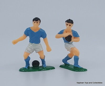 £1.43 • Buy Cake Topper RUGBY PLAYERS Lot Of 2 Hard Plastic 2  FIGURES Vintage Cake Topper