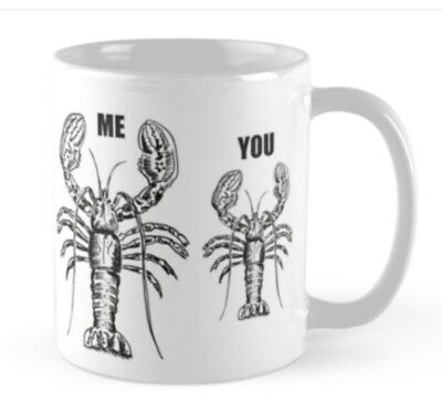 AU24.19 • Buy Jordan Peterson Inspired Lobster Hierarchy Gift Mug Not Book