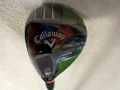 $ CDN148 • Buy LH - Callaway RAZR Fit Xtreme 5/18* Wood W/Trinity F75 Stiff Graphite Shaft
