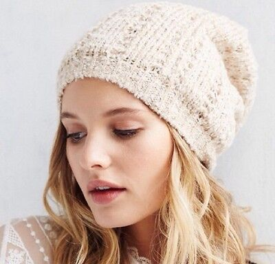 75f5cbf705847 Urban Outfitters Women s Slouch Knit Lightweight Fall Winter Beanie-NWT! •  19.99