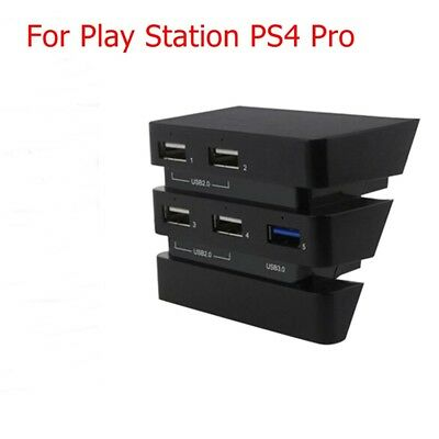AU11.96 • Buy High Speed USB Hub 3.0 Expansion Controller Adapter For PS4 Pro Gaming Console