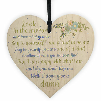 £3.99 • Buy Friendship Sign Inspirational Shabby Chic Heart Plaque Birthday Gift Thank You