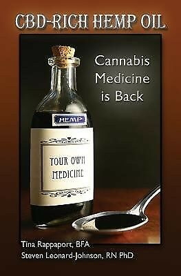 AU20.98 • Buy CBD-Rich Hemp Oil: Cannabis Medicine Is Back PAPERBACK BOOK ONLY