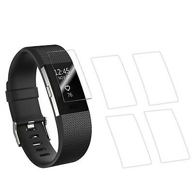 AU14.97 • Buy  Screen Protectors Hd Clear Fitbit Charge 2 Anti Bubble Glass Full Coverage