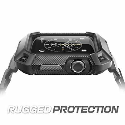 $ CDN39.42 • Buy Rugged Protective Case With Strap Bands For Apple Watch Series 3 2 1 42mm Black