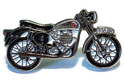 Classic BSA British Rocker Motorbike Ton Up Boy Motorcycle Metal Bike Pin Badge • 2.69£