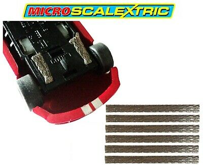 £1.99 • Buy GENUINE Official Micro Scalextric Pickup Contact Braids For All Cars 4 Pack NEW