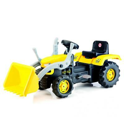 £49.99 • Buy Dolu Kids Ride On Tractor Pedal Operated Toy Excavator Yellow 3+ Outdoor Garden