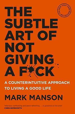 AU29.67 • Buy The Subtle Art Of Not Giving A Fuck Fck F*ck Fk Hardcover Book By Mark Manson