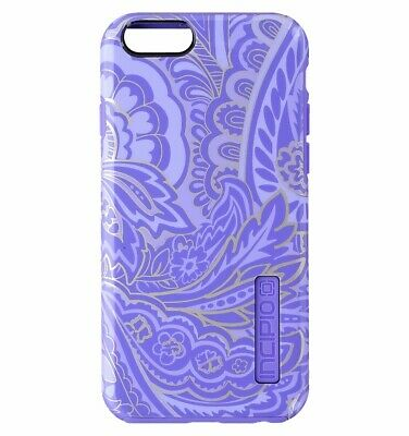 AU8.54 • Buy Incipio Design Series Hybrid Case Cover For IPhone 6s 6 - Purple / Gold Paisley