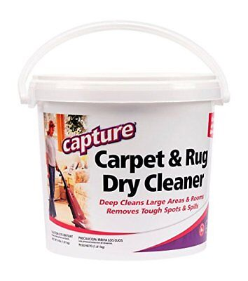 £19.37 • Buy Carpet Cleaner Powder Rugs Dry Cleaning Allergy Relief Stain Removal 4lb Pail