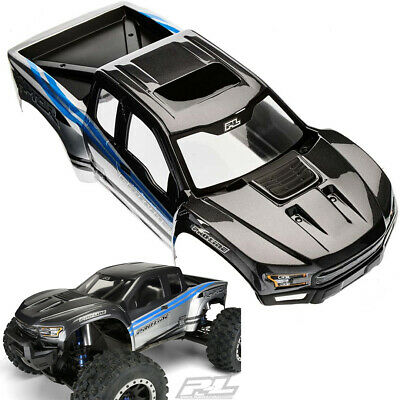 AU150.45 • Buy Pro-Line Pre-Painted/Cut 2017 1/10 Ford F-150 Raptor Body Gray/Blue:  X-Maxx