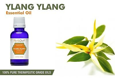 Ylang Ylang Essential Oil 100% Pure Natural Aromatherapy Therapeutic Grade Oils  • 1.07£