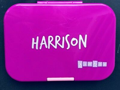 AU5 • Buy Personalised Yumbox/Lunchbox/Bento Box Name Label