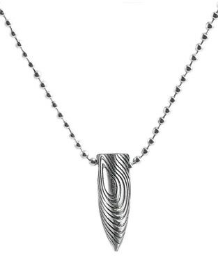 £3.99 • Buy Men's Stainless Steel Army Military Bullet Pendant Ball Chain Necklace 821
