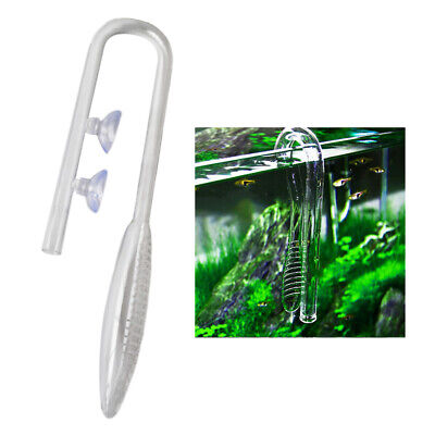 £11.54 • Buy Glass Lily Pipe Inflow Lily Pipe For Aquarium Landscape Tank   Tank