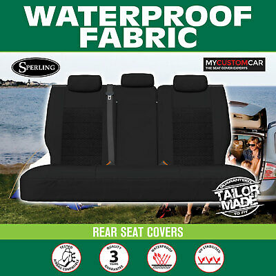 AU165 • Buy Mitsubishi Outlander (ZJ,ZK,ZL) 2012-on REAR(ROW2) Waterproof Fabric Seat Covers