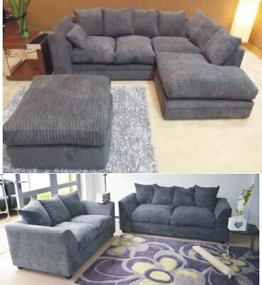 Best Jumbo Cord 3 Seater Sofa Deals Compare Prices On