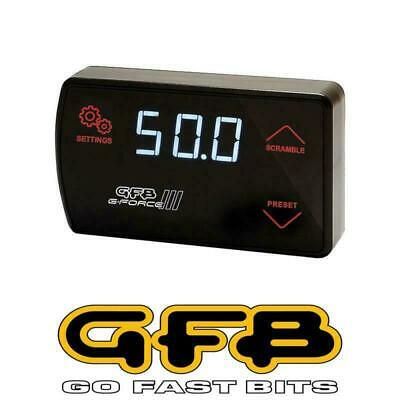 AU354.95 • Buy Go Fast Bits G-Force III Electronic Boost Controller W/AFR Up To 50 PSI GFB3005