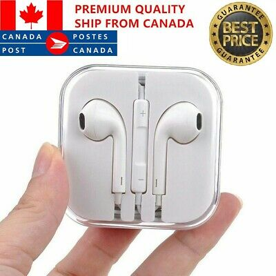 $ CDN7.99 • Buy Earphones For IPhone 4 5 6 7 8 X XS 11 IPad Samsung Headphones Earbuds With Mic