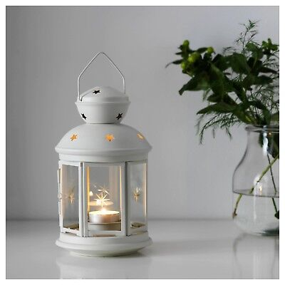 $18 • Buy Ikea Rotera Latern For Tealight In White, Black Or Silver - Set Of 1, 2 Or 3
