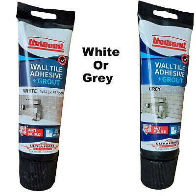 UniBond Quick Tile Grout Triple Anti-Mould Protection - Cream, Grey Or White • 9.95£