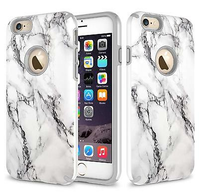 AU13.35 • Buy Apple IPhone 6 / IPhone 6S Case, Dual Layer Shockproof Case + Screen Protector
