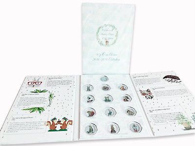 2016 2017 2018 Beatrix Potter 50p Fifty Pence Coin Album Folder Collecting Pack • 19.99£