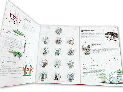 All 2016-2018 Beatrix Potter 50p Fifty Pence Coin Album Folder Collecting Pack • 19.99£