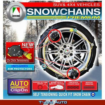 AU261.68 • Buy Premium Snow Chains 4WD 15 16 19 Inch CAP500 305/70x16