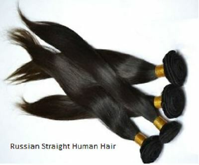 Russian Straight Virgin Human Hair 14 Inches • 68.42£