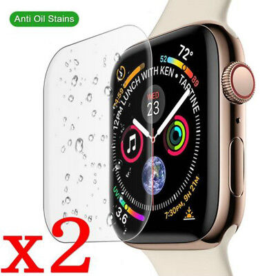 $ CDN1.19 • Buy For Apple Watch Series 4/3/2/1 2PCS Tempered Glass Screen Protector Film