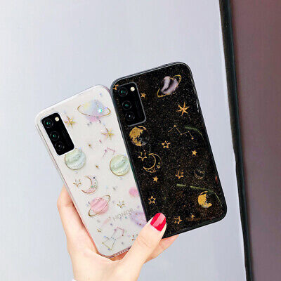 $ CDN5.63 • Buy For Samsung S21 S20 FE Note 20 S10 A72 Bling Star Clear Rubber Soft Case Cover