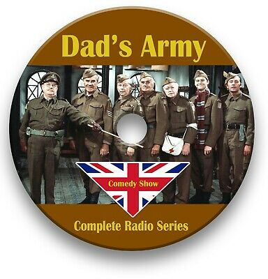 £3.99 • Buy Dad's Army Radio Show On Cd - Old Time Radio - Complete 74 Episodes Audio Mp3