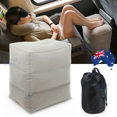 AU9.95 • Buy Inflatable Foot Rest Travel Air Pillow Cushion Office Home Leg Footrest Relax AU