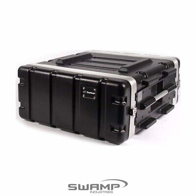 AU149.99 • Buy SWAMP 4U ABS 19  Rack Case - Extra Depth Roadcase Rack / Amp / 4RU Flight Case
