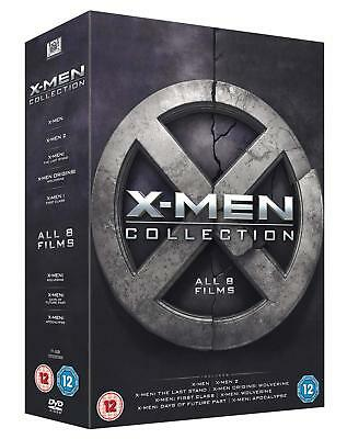 AU54.98 • Buy X Men Complete Collection All 8 Movies Dvd Box Set 8 Discs  New&sealed