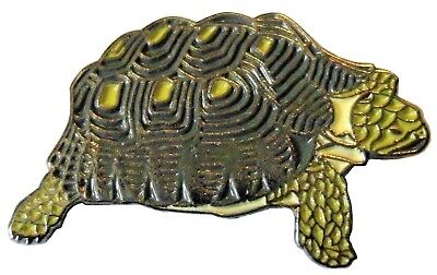 Tortoise Pet Wild Animal Creature Brooch Metal Enamel Pin Badge 25mm NEW  • 2.69£