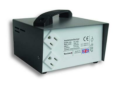 Tacima Step Down Transformer USA To UK 240/120V Max Load 1000W Voltage Converter • 169.99£