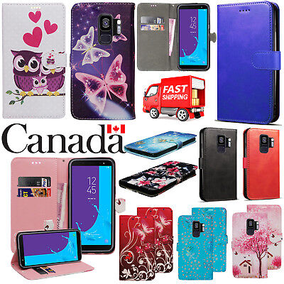 $ CDN6.25 • Buy For Samsung Galaxy S9 Premium Leather Wallet Book Stand View Card Case Cover