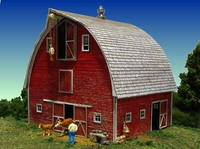 $ CDN82.03 • Buy Monroe Models HO Scale Railroads Trains Scenery Bob's Barn Building Kit 2211