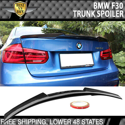 $131.99 • Buy Fits 12-20 BMW 3-Series F30 F80 M4 Style Trunk Spoiler Carbon Fiber