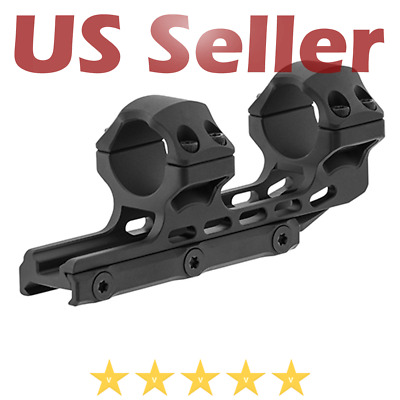 $48.95 • Buy UTG Leapers ACCU-SYNC 1  High Profile 34mm Offset Picatinny Scope Rifle Rings