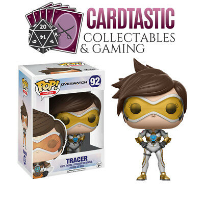 AU15.99 • Buy Overwatch Tracer (Posh) #92 - New Funko POP! Vinyl Figure