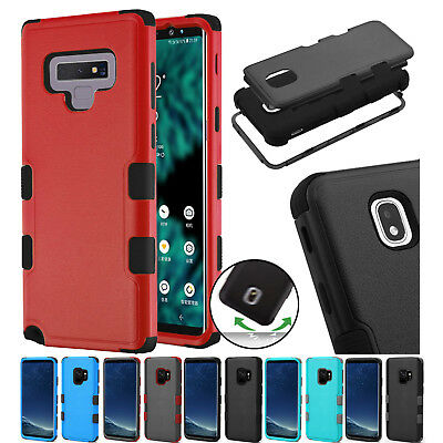 $ CDN18.74 • Buy For Samsung Galaxy Note 9 Natural Dual Layer TUFF 3-Piece Case Cover+PryTool