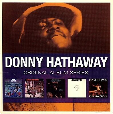 Donny Hathaway ORIGINAL ALBUM SERIES Everything Is EXTENSION OF A MAN New 5 CD • 13.58£