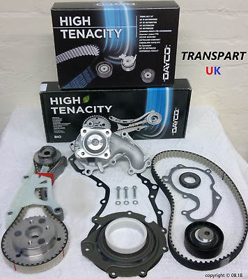 For Ford S-max Galaxy 1.8 Diesel Tdci Timing Belt Kit Lower Wet Belt Water Pump • 184£
