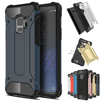 $ CDN5.13 • Buy Shockproof Armor Hybrid Case Cover For Samsung Galaxy Note 9 8 S6 S7 S8 S9 Plus